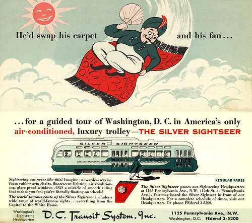 Washington Silver Sightseer Ad