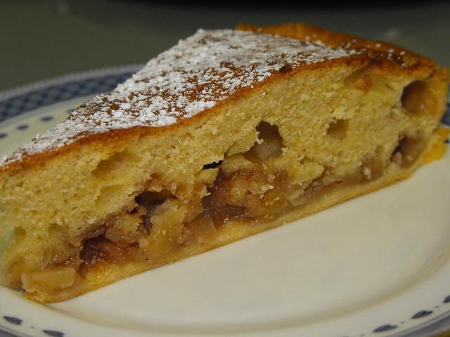 Tarte/bolo de maçã