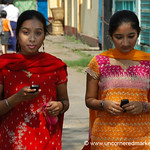 Mobile Phones in Rangoon, Burma (Yangon, Myanmar)