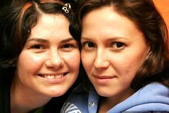 sisters   rachel and megan on megan's 21st birthday …