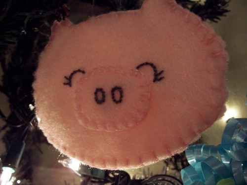 Piggy Ornament
