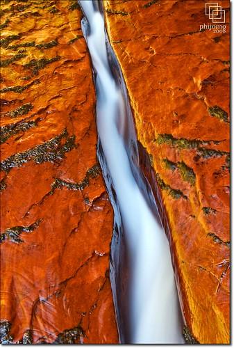 nature water rock river landscape outdoors utah ut nikon scenic zion zionnationalpark springdale thesubway thecrack navajosandstone northcreek d80 nikond80 leftfork platinumheartaward natureoutpost kolobsection
