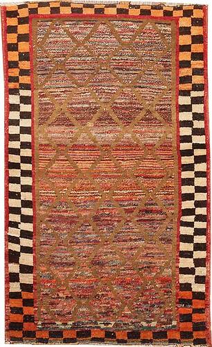 Gabbeh Persian Rug #42812 by Nazmiyal Collection