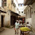 Street Scene in Stone Town, Zanzibar