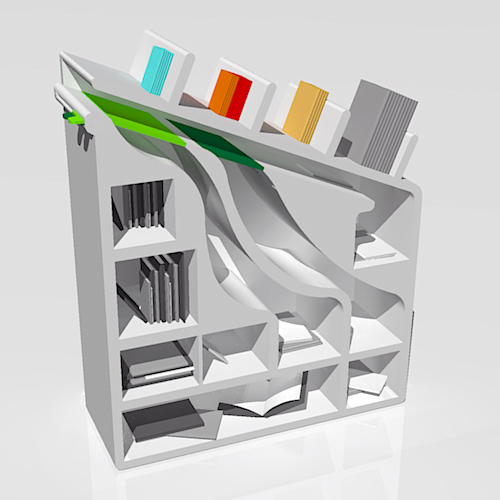 Bookshelves for Super-Lazy People