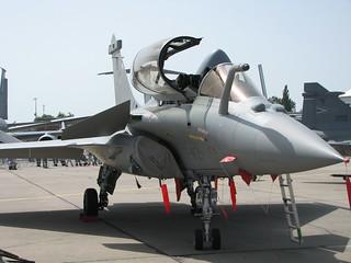 Front: Dassault Rafale