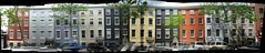 MacDougal-Sullivan Gardens Historic District panorama 1 by epicharmus