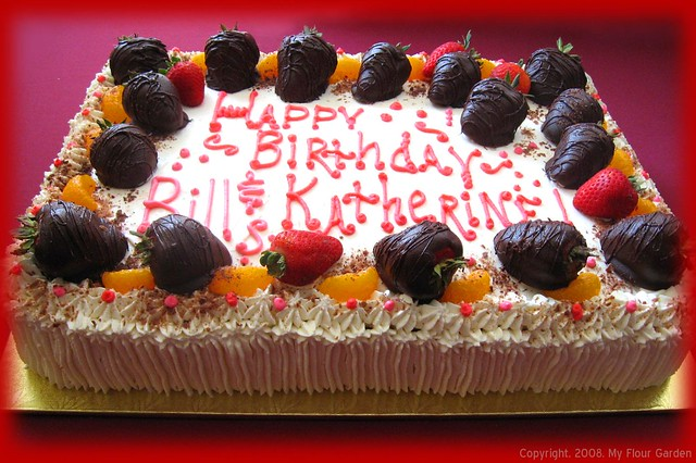 Fresh Fruit Fantasy - Quarter Sheet Cake | Flickr - Photo ...