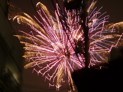 recreation(0.0), outdoor recreation(0.0), sparkler(0.0), fireworks(1.0), event(1.0), new year's eve(1.0), night(1.0),