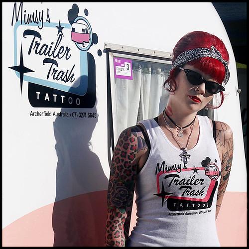 Trailer trash women for Tattooed white trash t shirt