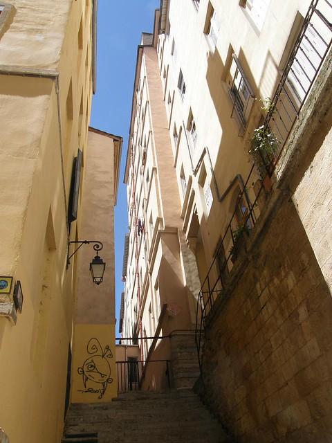 Lyon, la Croix rousse