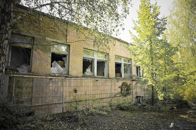 Abandoned kindergarten, Pripyat, Chernobyl