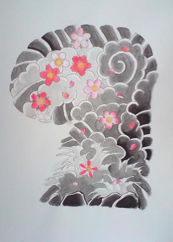 Japanese tattoo flash tattoo art gallery for Japanese tattoo flash