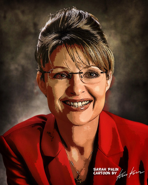 governor sarah palin for vice president by Kris Kros