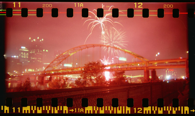 Fort Pitt Bridge & Fireworks