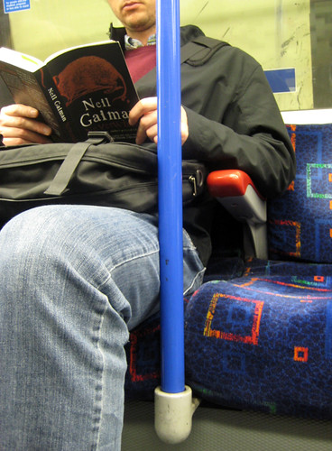 Reading Neverwhere on the Tube