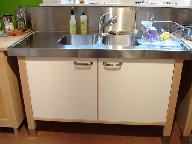 Ikea Varde Kitchen Butcher Block Island