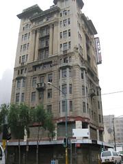 Derelict building next to Provincial Legislature