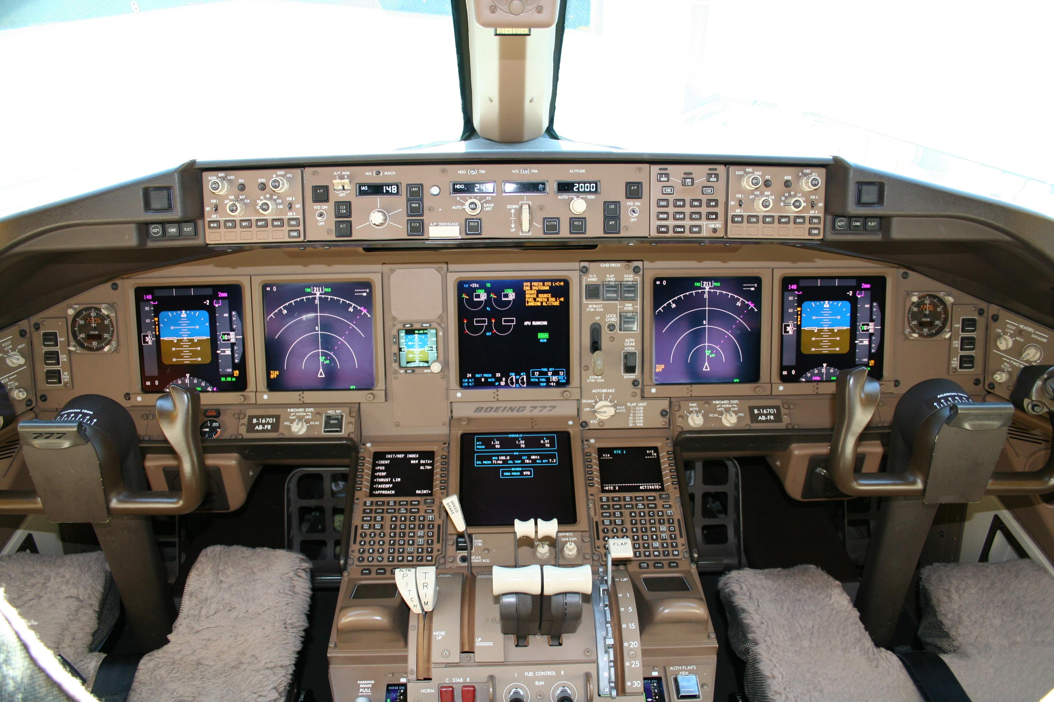 Textures Flight Deck Page 5 Boeing 777 Worldliner