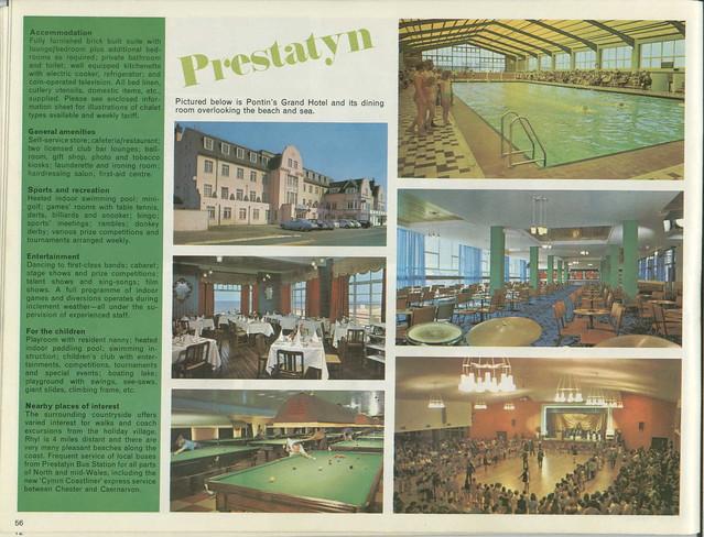 Pontins Brochure 1972 - Prestatyn