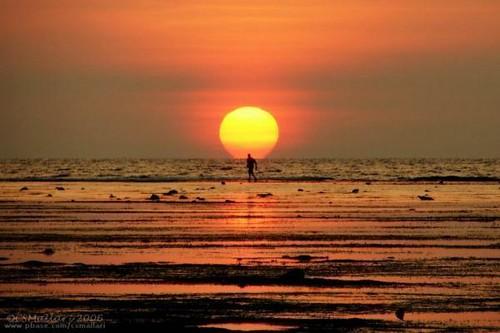 sunset wow philippines beaches ilocos resorts region luzon pangasinan patar bolinao
