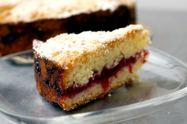 cranberry vanilla coffee cake | Flickr - Photo Sharing!