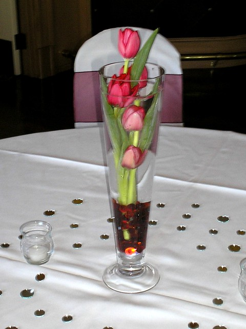 Centerpiece red tulips a flickr photo sharing