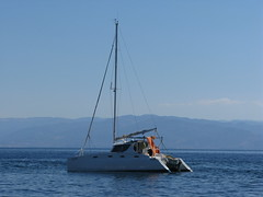 sail, sailboat, sailing, vehicle, sailing, sea, proa, mast, watercraft, catamaran, boat,