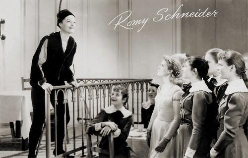 Romy Schneider, Mädchen in Uniform