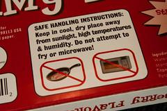 Do not cook gummy bacon.