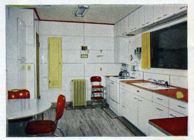 Aladdin 1950 39 S Kit House Kitchen Design Flickr Photo