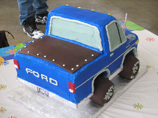 Truck Theme Cakes A Gallery On Flickr