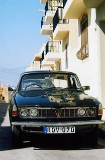 Rover P6 2000, Malta Feb 2009