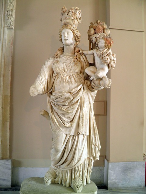Statue of Tyche, Sculpture of Roman Period, Istanbul Archaeology Museum