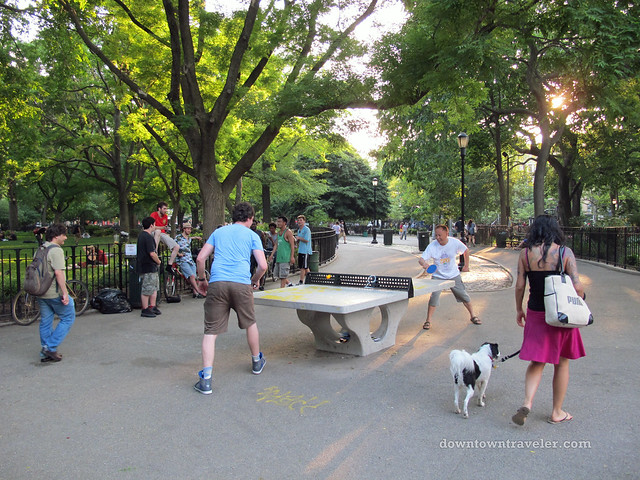 NYC East Village_Tompkins Square Ping Pong