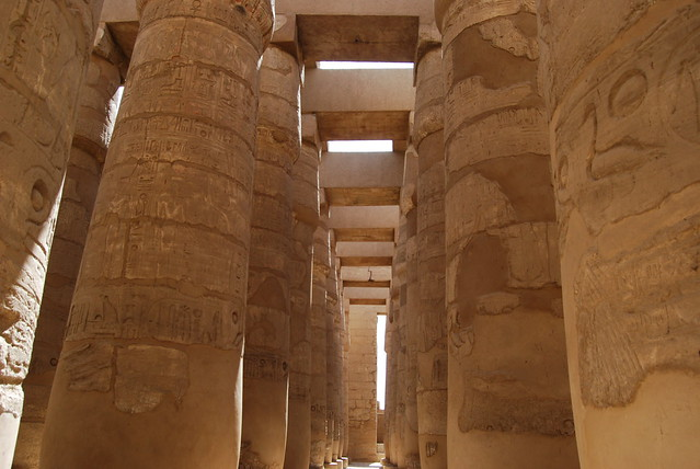 Karnak the Great Hypostyle hall