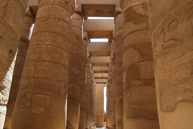 Karnak the Great Hypostyle hall