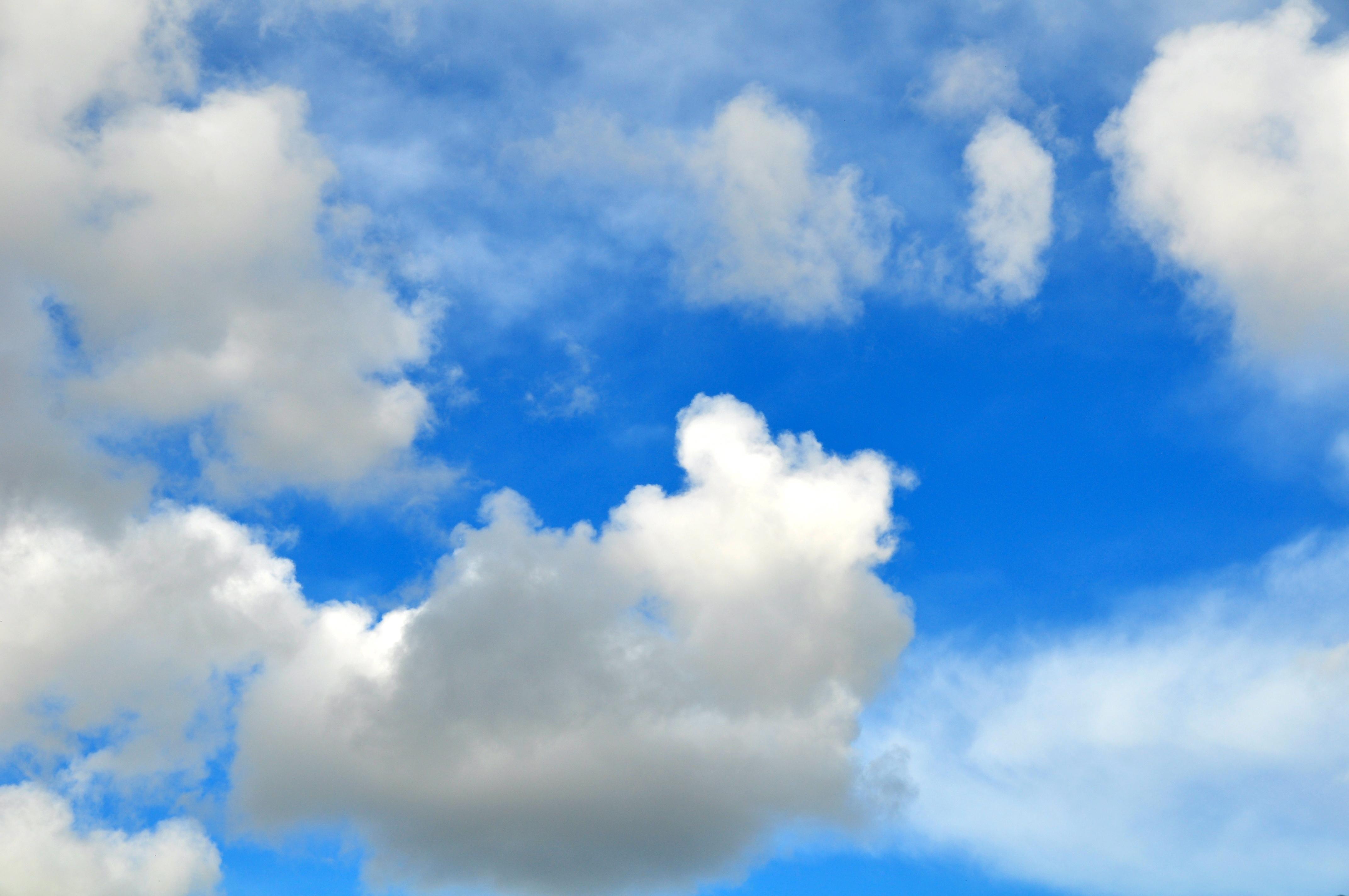 Fotos E Imagenes Cielo Azul Con Nubes: Cielo Con Nubes Wallpaper