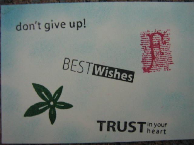 Encouragement {ATC}