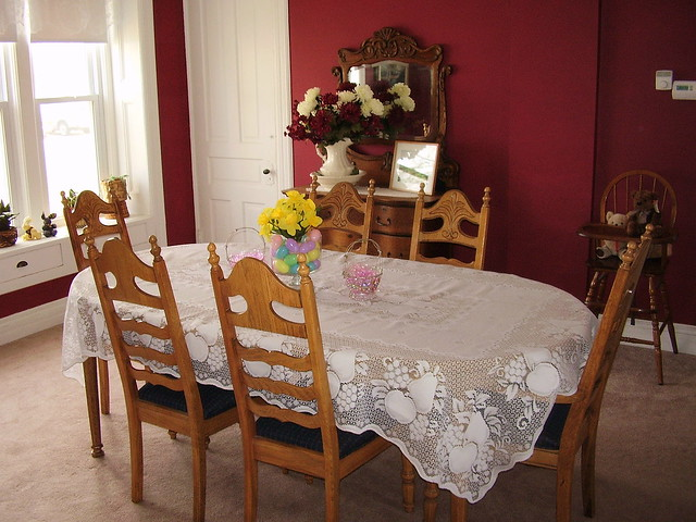 dining room with mexican table cloth flickr photo sharing