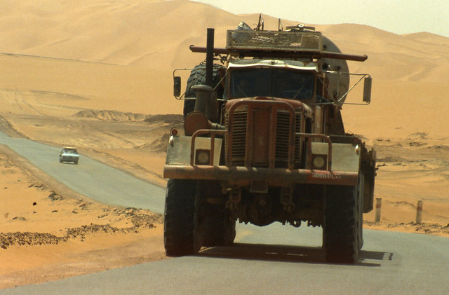 Camion a El Oued