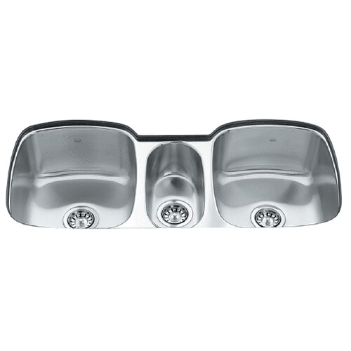 Triple Stainless Steel Sink : Kindred Triple Bowl Stainless Steel Undermount Kitchen Sink Flickr ...