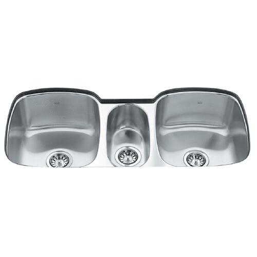 Triple Stainless Steel Sink : Kindred Triple Bowl Stainless Steel Undermount Kitchen Sink Flickr ...