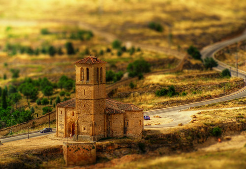 La Vera Cruz - Efecto Tilt-Shift digital