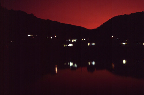 sunset japan landscape scenery pentax kumamoto sakamoto scannedslide spii rescan yatsushiro kumagawa fujichrome100 pentaxfilmslr smartscan3600