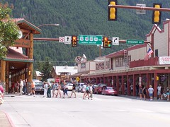 Downtown,  Jackson Hole WY by NNECAPA
