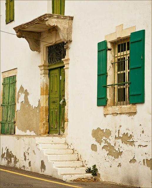 Door and windows, Athienou village