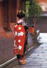 """Maiko"" Traditional Costume, Japón"