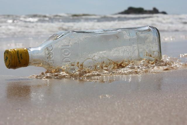 Message in a bottle - castaway