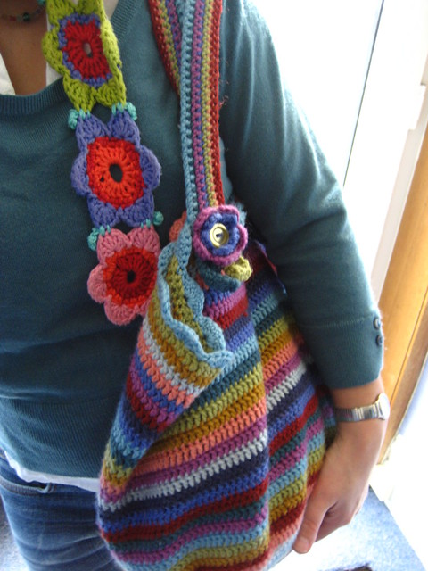 Crochet Bag And Pattern : Crochet Bag and me Flickr - Photo Sharing!